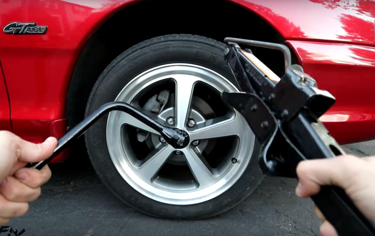 Repair A Punctured Tire