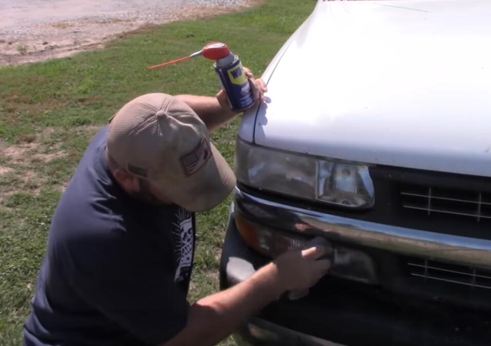 Clean Inside Of Headlights